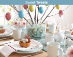 Easter tablescape for Inspiration