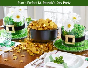 St. Patrick's Day tablescape for Inspiration
