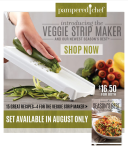 Veggie Strip Maker Consumer Email