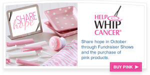 Help Whip Cancer - Banner Ad
