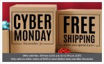 Cyber Monday - Free Shipping - Banner Ad