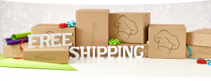 Cyber Monday - Free Shipping - Homepage Banner Ad