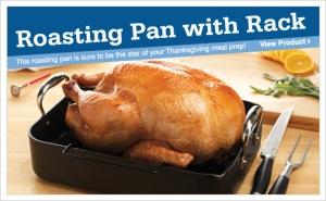 Roasting pan with Rack