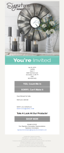 Party Invite - You're Invited