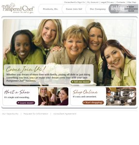 2004 Corporate Homepage - Come Join Us