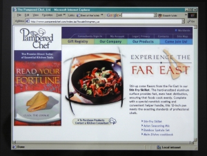 Old Corporate Homepage