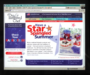 Old July Corporate Homepage