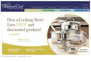 2007 Corporate Homepage - Canada