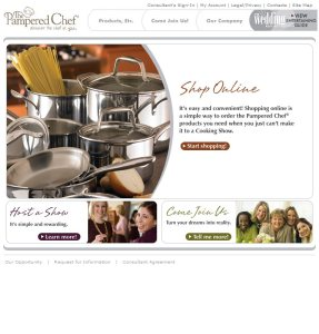 2004 Corporate Homepage - Shop Online