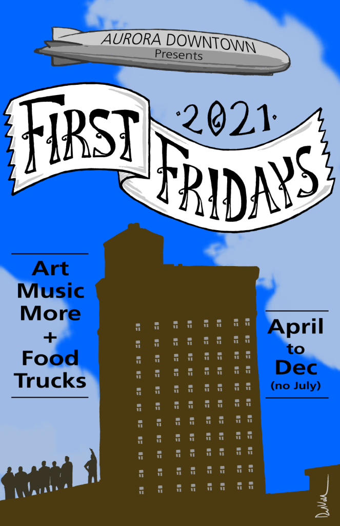 First Fridays with zeppelin